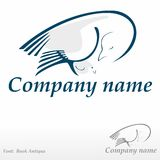 Pomba e seu pintainho fotos de stock royalty free