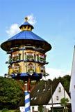 Pombal de madeira tradicional em Baviera rural Imagens de Stock