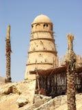 Pombal egípcio em que os pombos são produzidos comendo Imagem de Stock