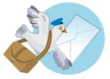 Pombo de portador ilustração royalty free