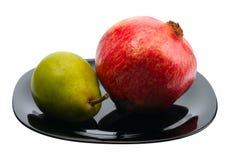 pomegranate груши Стоковые Изображения