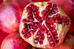 pomegranate зрелый Стоковые Фотографии RF