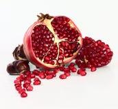 Pomegranate и каштаны стоковая фотография rf