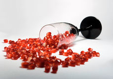 pomegranate коктеила Стоковая Фотография RF