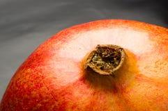 pomegranate предпосылки черный Стоковые Изображения RF