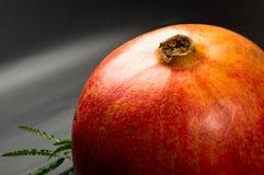 pomegranate предпосылки черный Стоковые Изображения