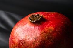 pomegranate предпосылки черный Стоковое Фото