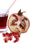 pomegranate сока Стоковое Изображение