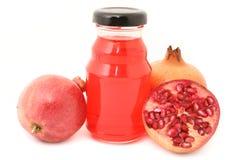 pomegranate сока Стоковое фото RF