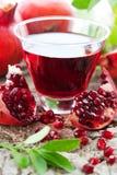 pomegranate сока Стоковые Изображения