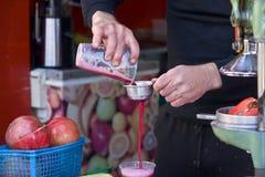 pomegranate сока Стоковая Фотография RF