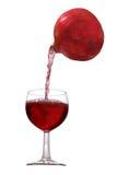 pomegranate сока Стоковые Фотографии RF