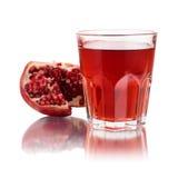 pomegranate сока стоковая фотография
