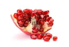 pomegranate части стоковые изображения rf