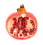 Pomegranate. The pomegranate (Punica granatum) is a fruit-bearing deciduous shrub or small tree growing to 5–8 m tall. In the functional food industry royalty free stock images
