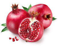 pomegranate royaltyfri foto