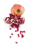 Pomegranate. Object on a white background Royalty Free Stock Photography