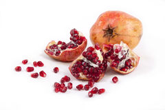 Pomegranate. Object on a white background Stock Images