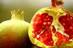 Pomegranate 2, new year. Stock Photography