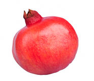 Pomegranate. Red pomegranate isolated on a white background Royalty Free Stock Photos
