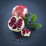 pomegranate arkivfoto