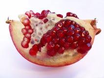 Pomegranate. On white background Royalty Free Stock Image
