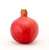 Pomegranate. A single pomegranate on a white background. Isolation is on a transparent layer in the PNG format royalty free stock photos
