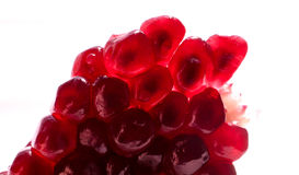 Pomegranate. Delicious and nutritious pomegranate seeds Royalty Free Stock Images
