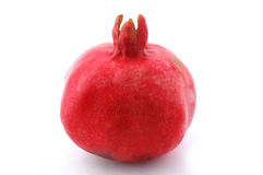 Pomegranate. Isolated on the white Royalty Free Stock Photography