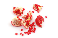 pomegranate royaltyfri bild