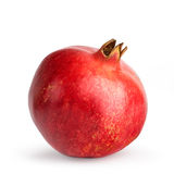 Pomegranate. On a white background Stock Images