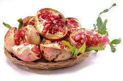 Pomegranate antioxidant fruit Royalty Free Stock Image