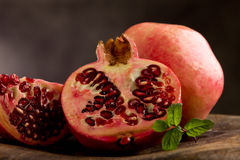 Pomegranate  art style Stock Photography