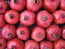 Pomegranate background Stock Image