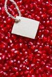 Pomegranate background. Stock Images