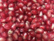 Pomegranate background royalty free stock images
