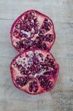 Pomegranate. Botanical name Punica granatum, is a fruit-bearing deciduous shrub or small tree Royalty Free Stock Image