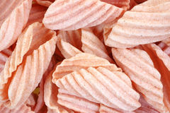 Pomegranate Chips up Close Stock Photos