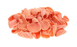 Pomegranate Chips on White Royalty Free Stock Photo