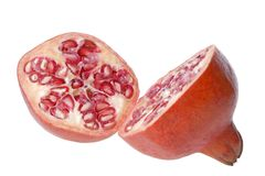 Pomegranate Close-Up Royalty Free Stock Photo