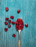 Pomegranate. Close up of pomegranate seeds Royalty Free Stock Images