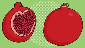 Pomegranate Close Up Royalty Free Stock Image