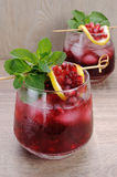 Pomegranate cocktail Royalty Free Stock Photos
