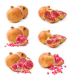 Pomegranate collage Stock Photography