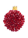 Pomegranate concept. Concept photo of pomegranate seeds Stock Photos