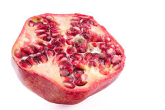 Pomegranate cross section Stock Image