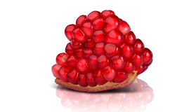 Pomegranate Detail Stock Images