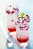 Pomegranate drik stock images