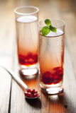 Pomegranate drink Royalty Free Stock Photos