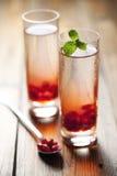 Pomegranate drink royalty free stock photos